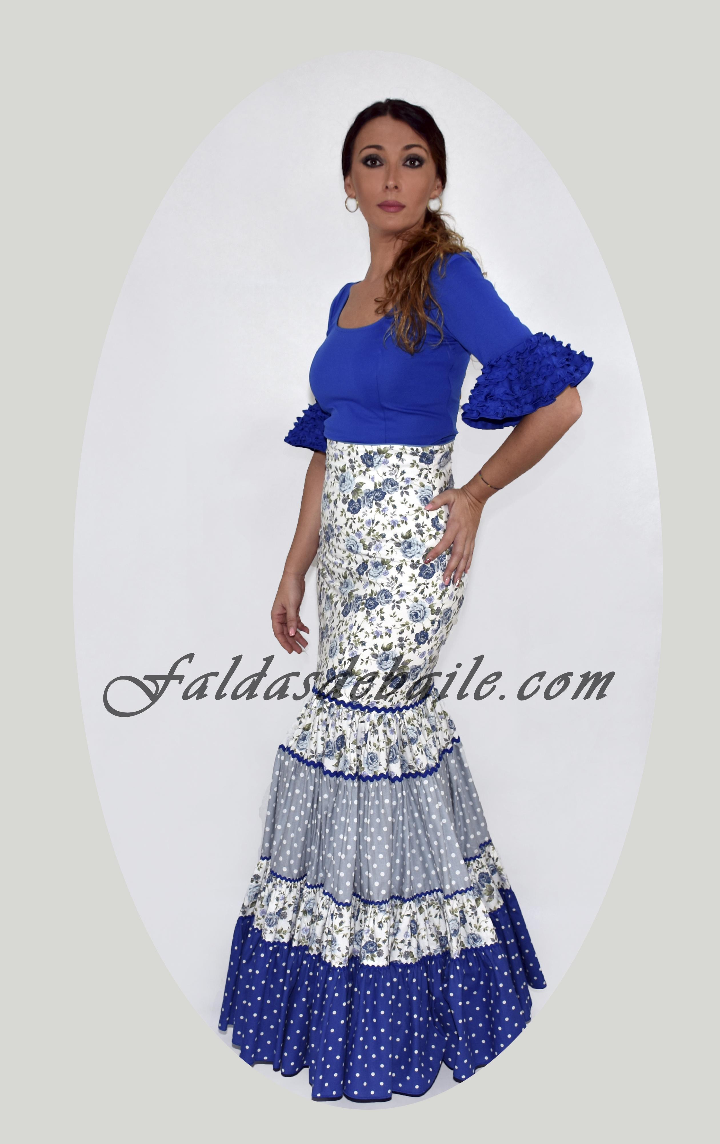 bea724e41 Falda Flamenca Modelo 2