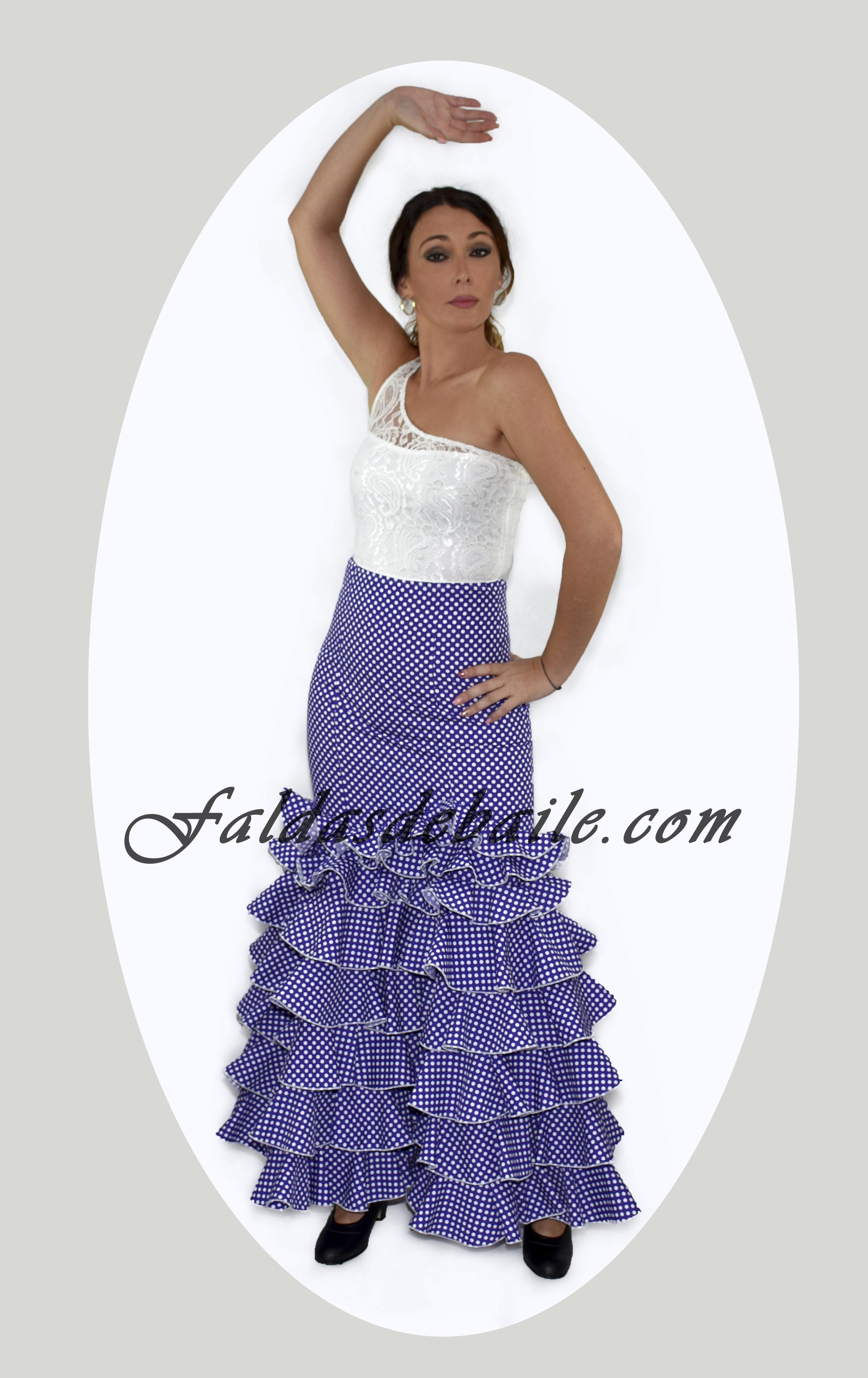 d04d4adec Falda Flamenca Modelo 5