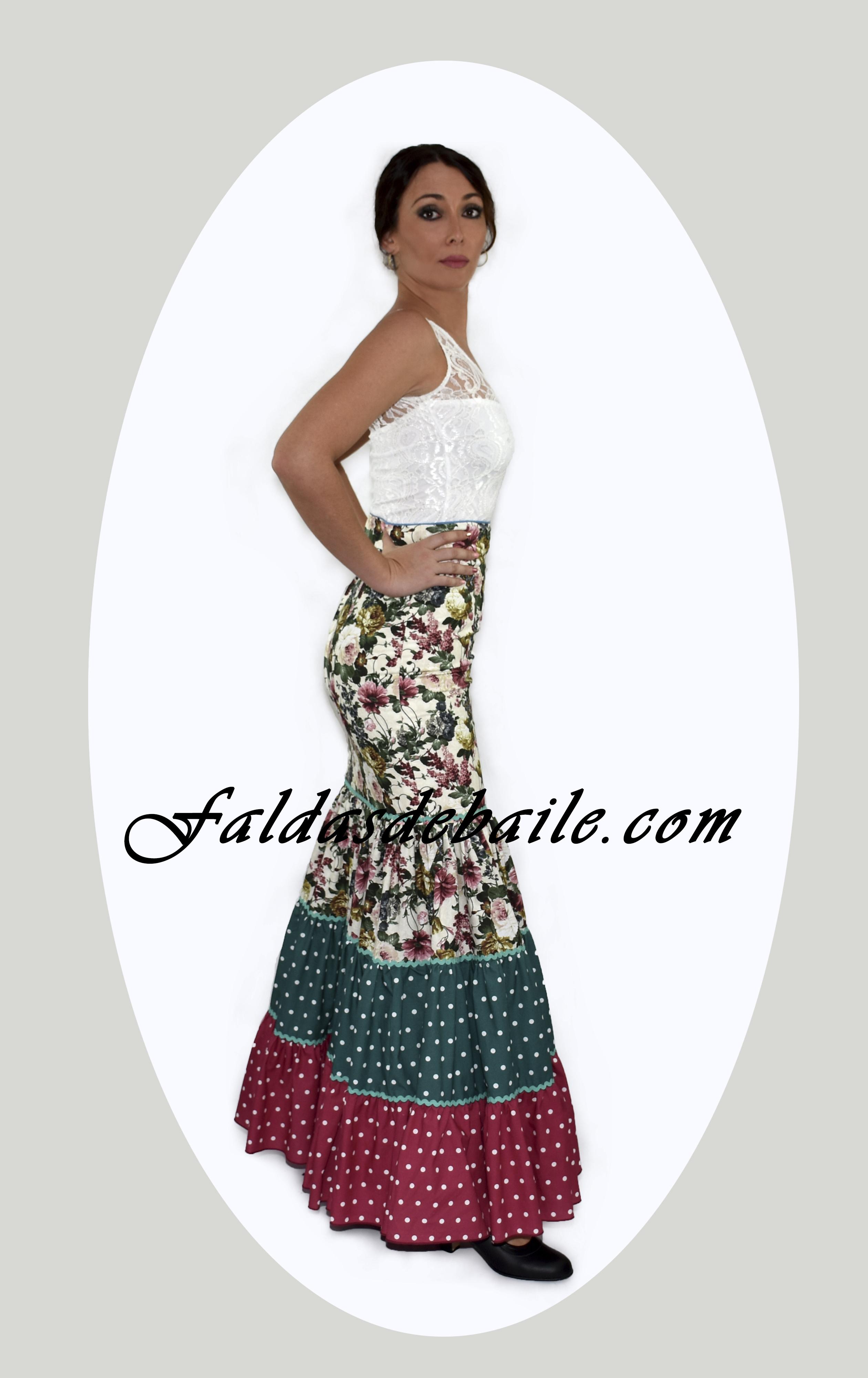 precio competitivo 6af86 45399 Falda Flamenca Modelo 1