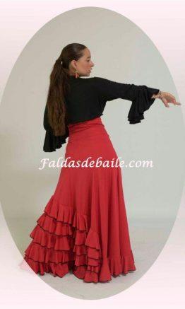 falda de baile niñas