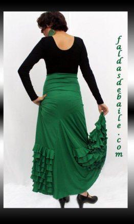 Falda de baile modelo Malaga