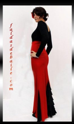 Falda de baile modelo Rocio
