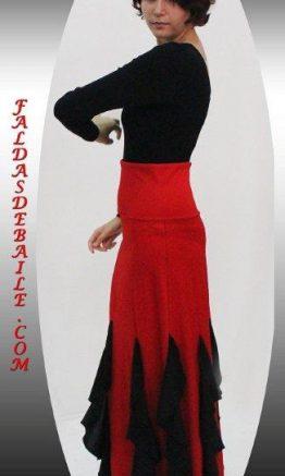 Falda de baile modelo Almería.