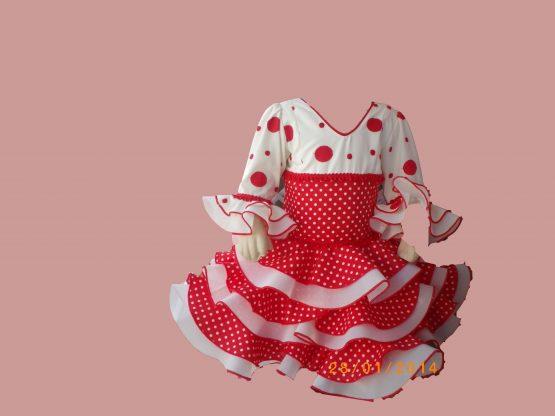 Vestido de Marisol infantil