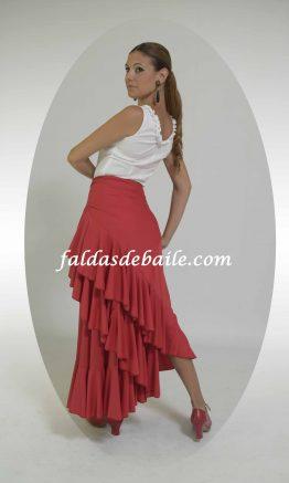 falda de baile modelo Sevilla