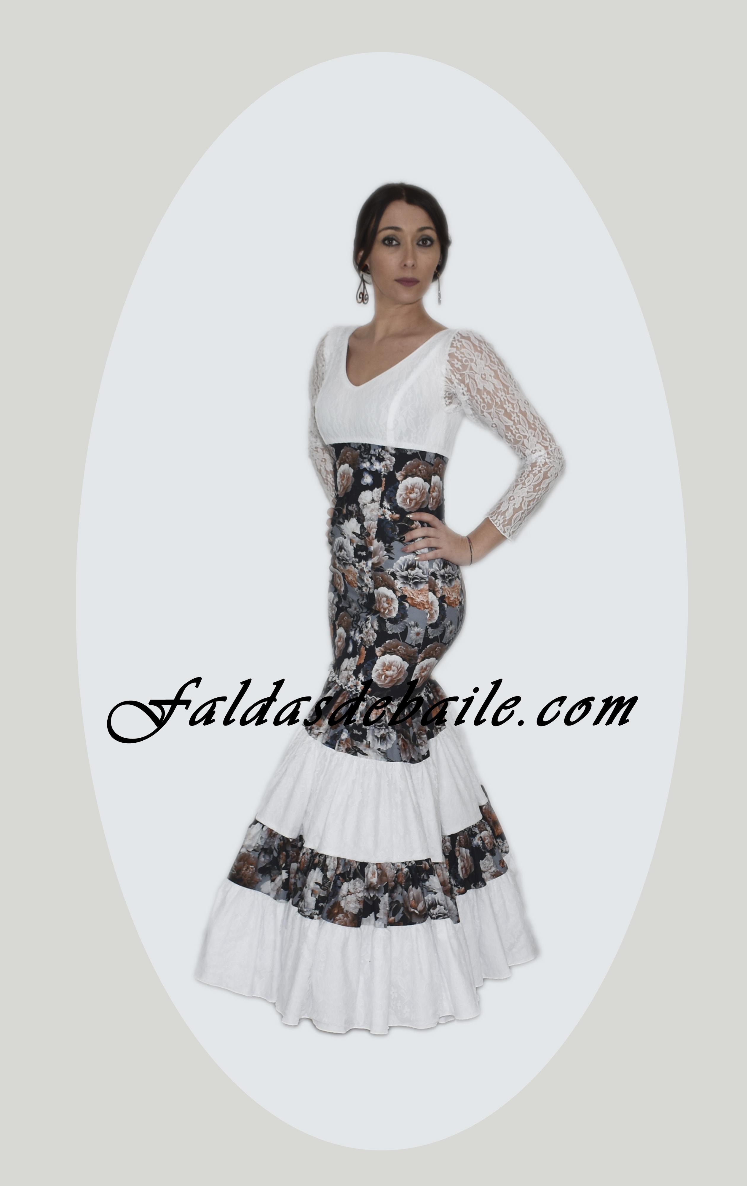 08a20e3b6 Traje flamenca canastero-encaje