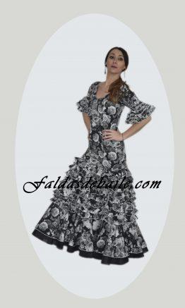 Vestido flamenco volante grande