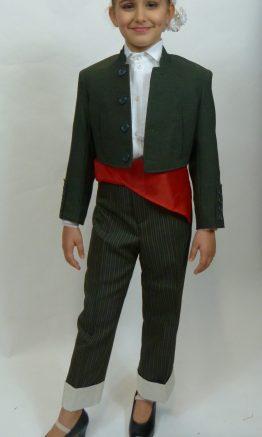 traje campero infantil